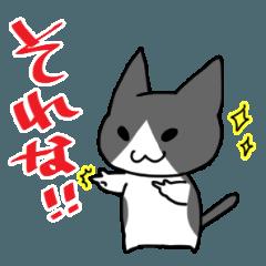 3文字で返事する猫