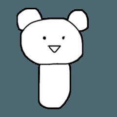 クマのポコちゃん こけし編