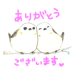 シマエナガちゃん〜日常あいさつ編。敬語〜