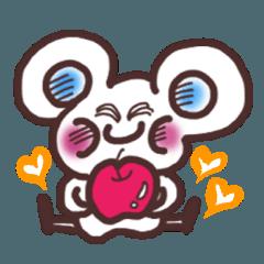 ハッピーマウスの日常スタンプ!