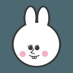 一貫した ウサギ