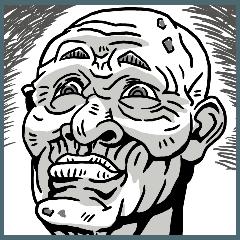[LINEスタンプ] 爺さん おいっ 爺さん。