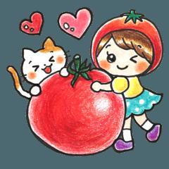 トマトちゃんとミケのHAPPY WORLD★