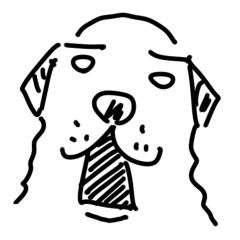 シュールな犬 プーツクスタンプ