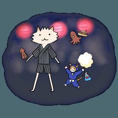 ポメ村さんとネコ忍者の夏休み