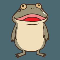 カエルスタンプ:バジェットガエル