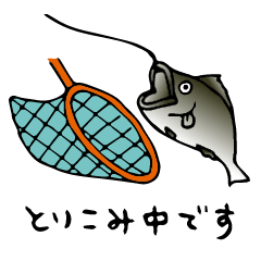 [LINEスタンプ] 日常会話に使える釣りスタンプ