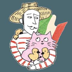ピンクのルル日常会話イタリア語・日本語編