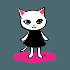白猫*ルーシー