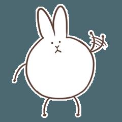 ウサギのようなウサギ