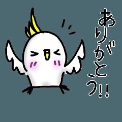 鳥のスタンプ2