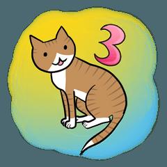 ネコのチャコちゃん3