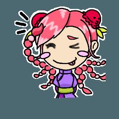うおガール☆釣りスタンプ Vol.2