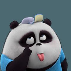 パンダ Pange 3D 1