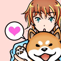 男子☆柴犬