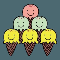 かわいい アイスクリーム