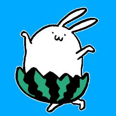 てきとうウサギ【夏】
