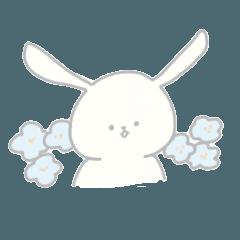 ウサギのモモとルル
