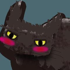 黒猫まこち2