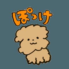 トイプードルのぽっけ〜からあげ編〜