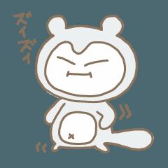 白いたぬきジョウ