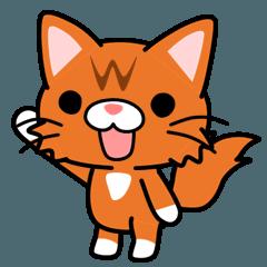 メインクーン(ねこ)のらいちゃん vol.2