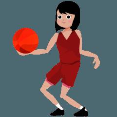 動くバスケ