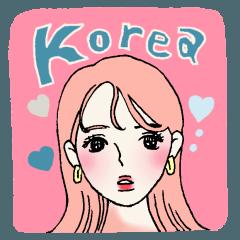 オルチャン韓国ガール