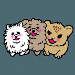 犬界スタンプ 赤ちゃんズ
