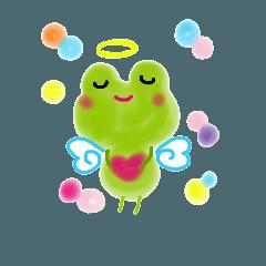 ゆるふわカエル天使 5