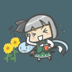 東方Project☆妖夢と庭掃除
