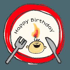 誕生日おめでとう!Vol.1