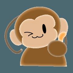 サルのスタンプ8