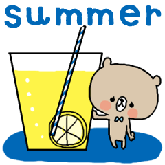 夏くまスタンプ