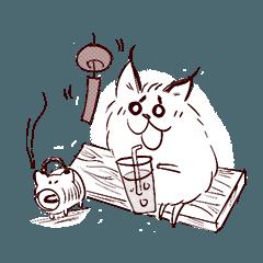 [LINEスタンプ] 毛玉なカラカル 5 (1)