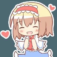 アリスがいっぱいスタンプ(東方Project )
