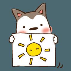 ちび犬のいち日