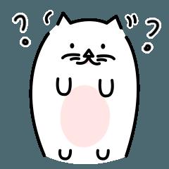 率直な太った猫