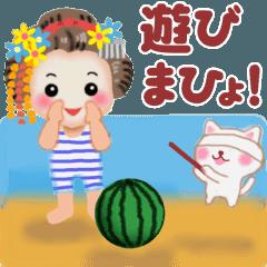 動くよ♪まいこはん♥京ことば 夏
