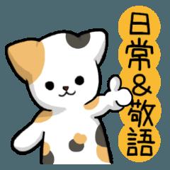 【日常&敬語】毎日使える猫