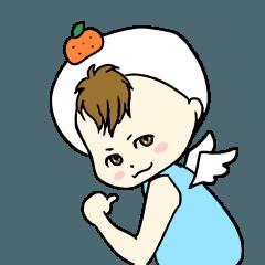 お餅の妖精 もちりん(修正版)