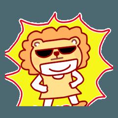 着ぐるみの中のひと・ライオン