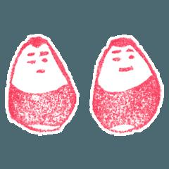 [LINEスタンプ] 日本の郷土玩具