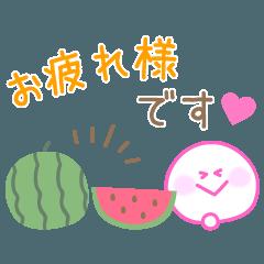 カラフルな使いやすいスタンプ☆夏