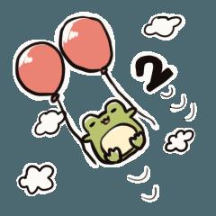 [LINEスタンプ] 衰退したカエルver.2