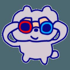 [LINEスタンプ] ゆるっと♬使える!くまの日常スタンプ