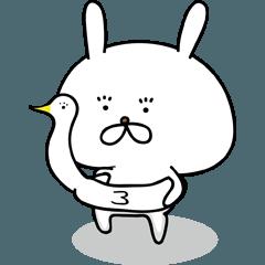 [LINEスタンプ] ただのうさぎですけど何か?2