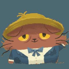 [LINEスタンプ] 猫のニャッホ 〜ニャ・ミゼラブル〜
