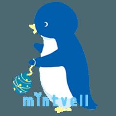 ミントベル ペンギンスタンプ