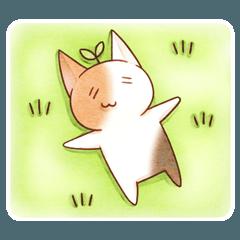 穀物猫のすたんぷ